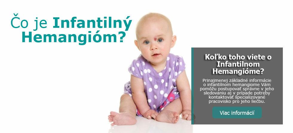 Čo je infantilný hemangióm (IH)?
