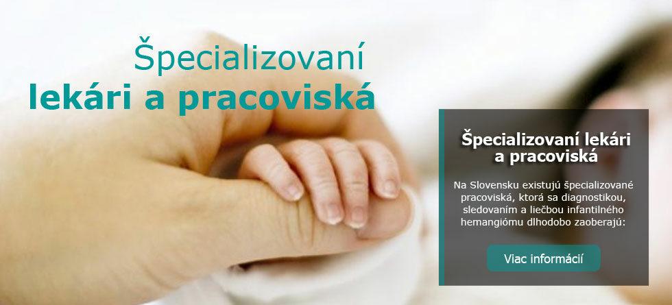 Špecializovaní lekári a pracoviská